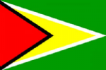 Guyana Large Country Flag - 5' x 3'.